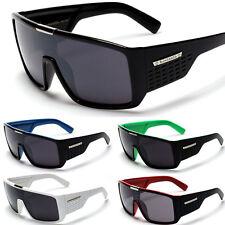 Oversized Square Biohazard Sunglasses Flat Top Mens Designer 100% UV400 Shades