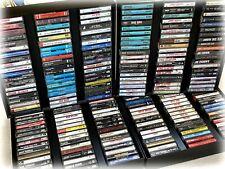 CHOOSE Cassette Tapes  60s 70s 80s 90s Pretenders Skynnrd Buffett Clapton Reggae