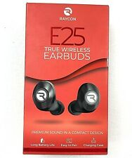 Raycon E25 True Wireless Earbuds Charging Case Tips Premium Sound SLIGHTLY USED