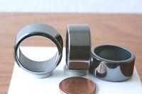Hämatit Ringe(Flacheform, 19mm, 3 St) Q-6015/H/19
