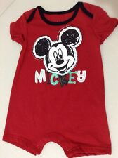 NWT Baby Boy Girl Disney Mickey Mouse 1pc Outfit Bodysuit 6-9m