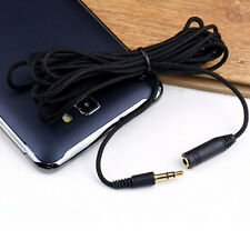 1.5M 3.5mm Female to Male F/M Headphone Stereo Audio Extension Cable Cord