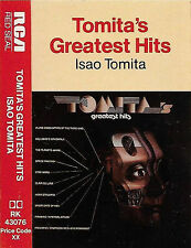 TOMITA TOMITA'S GREATEST HITS CASSETTE ALBUM RCA ELECTRONIC AMBIENT CLASSICAL