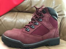 Timberland mauve lace up WARM ankle boots WINTER NICE unisex kids size 1