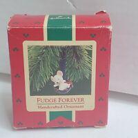 Hallmark Keepsake Ornament Fudge Forever Mouse Christmas Holiday Cooking Box