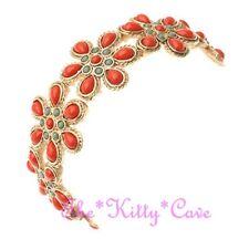 Chic Retro Cool Ethnic Boho Floral Daisy Chain Flower Flex Stretch Bracelet Cuff