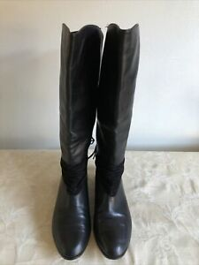 Sachi Women Leather Boots/ Exc Conds/ Size 38