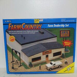 Ertl Farm Country Farm Dealership Set 1/64 Scale Model New Sealed In Box