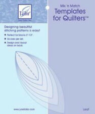 June Tailor Mix 'n Match Leaf Templates For Quilters 6/Pkg
