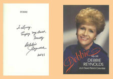 DEBBIE REYNOLDS Signed Book Carrie Fisher