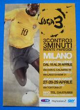 Postcard Promocard No 6332-joga bonito football-Milan