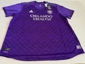 Adidas Sz 2XL Orlando City Home Jersey 2019 Men's Soccer Purple DP4792 $180