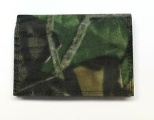 Mossy Oak Break Up Camo Trifold Nylon Wallet - Coin Pocket- New in Box