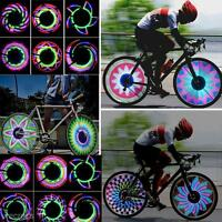 Gorgeous Bicycle Motorcycle Bike Cycling Tyre Tire Wheel Valve 32 LED Light Lamp