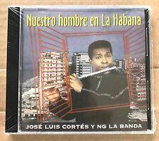 """JOSE LUIS CORTES Y NG LA BANDA - """" NUESTRO HOMBRE EN LA HABANA""""- CD"""