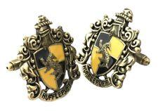 Harry Potter Hufflepuff  Bronze Tone Metal Cufflinks