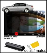 WINDOW TINT FILM TINTING DARK BLACK  SMOKE 20% 50x300CM