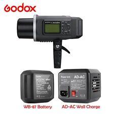 Godox AD600BM 2.4G Wireless WB-87 Battery AC-DC Outdoor Flash Light Speedlite