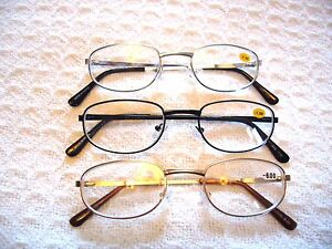 NEARSIGHTED DISTANCE READING GLASSES MINUS STRENGTH MYOPIA ~JOO6~(-.50 to -6.00)