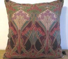 Liberty William Morris Ianthe Art Nouveau & Purple Velvet Fabric Cushion Cover