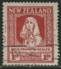 New Zealand 1929 1d & 1d Semi-postal used