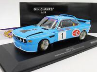 "Minichamps 155742681 # BMW 3.0 CSL No.1 Winner 4h Monza 1974 "" Peltier "" 1:18"