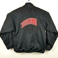 RARE Reebok Idaho Steelheads ECHL Hockey Jacket Mens Sz Large Full Zip Pockets