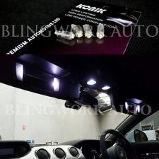 4pcs KONIK T5 High Power White LED Vanity Mirror Light bulb for MY15 Mustang GT
