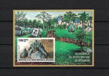 Karibik span. 2019 s/sh ** / mnh Wald Ariguanabo Martí Forest Bäume trees