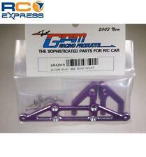 GPM Racing HPI Nitro RS4 Rally Purple Aluminum Rear Body Mount SR4201R