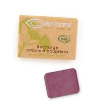 Recharge Fard à Paupières n°37 Prune nacrée  Bio - 1,3 g - Couleur Caramel