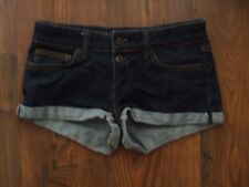 A Womens Size 8 Moto Demin Blue Shorts LADIES SUMMER POCKETS