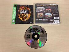 Road Rash 3-D 3D Complete Playstation PS1 Game CIB Original