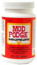 Mod Podge Waterbase Sealer, Glue and Finish (8-Ounce), Gloss Finish