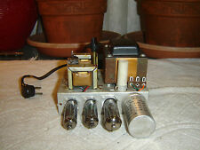 Tube 2 Channel Preamp Power Amp, Vintage Unit, for Repair