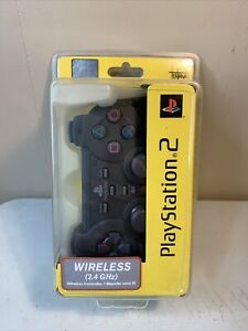 Playstation 2 Wireless Controller Katana 2.4 Ghz Black PS2 Sealed New In Box