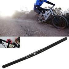 25.4mm Aluminum Alloy Handlebar Straight Bike MTB Bicycle Riser Flat Handle Bar