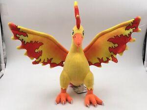 "Moltres 11"" Stuffed Animal Cartoon Plush Toy Nintendo Game Fire Bird Figure Doll"
