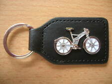 Schlüsselanhänger E-Bike Elektro Fahrrad Bike Mountainbike grau Art. 1170 Keyfob