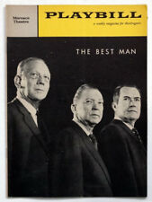 1960 Vintage GORE VIDAL'S BEST MAN New York PLAYBILL Magazine / MOROSCO THEATRE