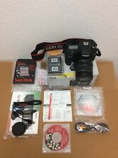 Canon EOS 7D 18.0 MP Digital SLR Camera EF 28-135 IS USM Kit + Memory Card