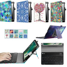 """For iPad 9.7"""" 2017 / iPad Pro Stand Case Cover + Detachable Bluetooth Keyboard"""