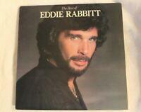 THE BEST OF EDDIE RABBITT VINYL LP  Cover VG++ and  Vinyl NM