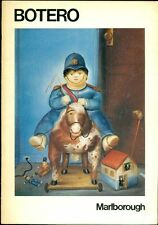 Fernando Botero. Catalogo di mostra, Marlborough Gallery, New York 1975