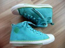 Boots Sneaker türkis Wildleder Gr 29 mit Reißverschluß von Pinocchio NEU