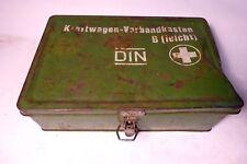 OLD VW VOLKSWAGON KOMBI KRAFTWAGEN FIRST AID TIN VINTAGE