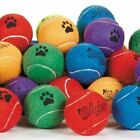 Dog Tennis Balls 2.5 inch Extra Durable Colorful Toys Bulk Available Colors Vary