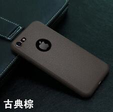de lujo ultra fino cuero piel suave sintético Funda para Apple iPhone 6 6s 7