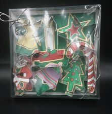 Cookie Cutters Christmas, Fox Run Craftsmen, Made in The USA, 7 Cutters