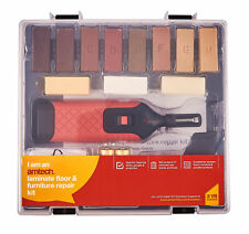 19Pc Floor Furniture Worktop Chips Scratches Laminate Wax System Repair Kits